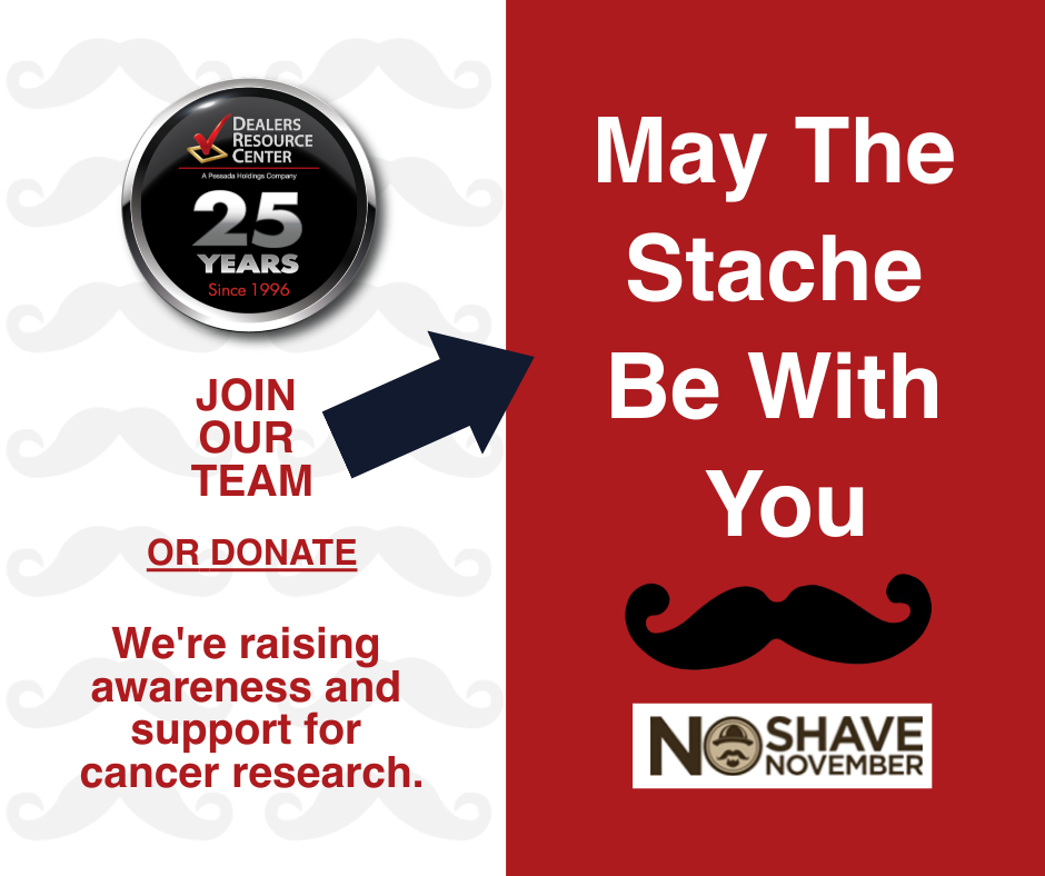 May the Stache Be With You No Shave November Dealers Resource Center