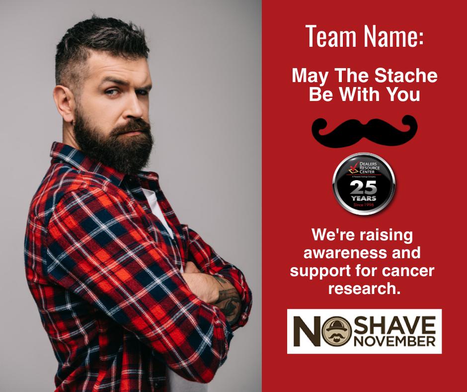 Dealers Resource Center No Shave November join